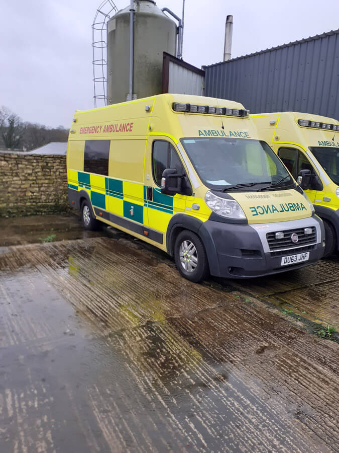 mendip Medical ambulance